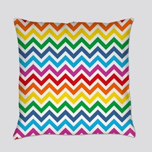 Rainbow Chevron Pattern Master Pillow