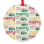 Merry Merry Ornament