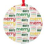 Merry Merry Ornament