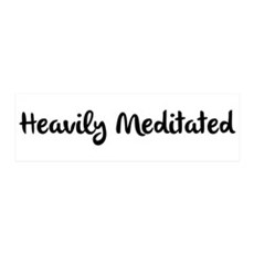 Heavily Meditated Wall Decal