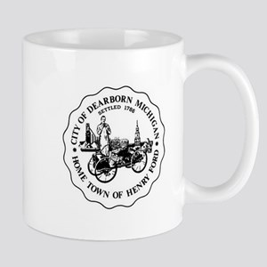 Homwtown of Henry Ford Mugs