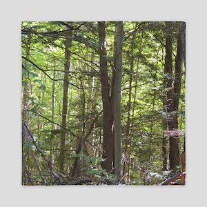 Scenery Of Trees Queen Duvet