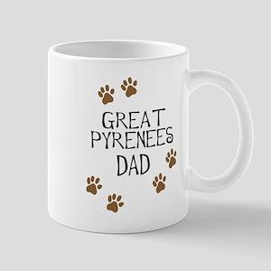 Great Pyrenees Dad Mugs
