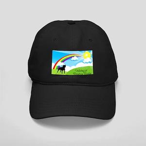 Rainbow Bridge fot Pitbulls copy Black Cap