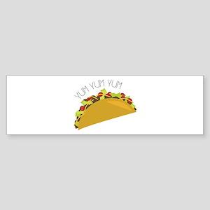 Yum Yum Bumper Sticker