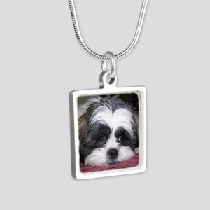 Shih Tzu Dog Photo Image Necklaces