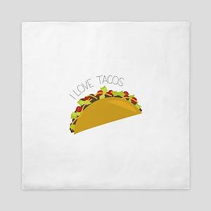 Love Tacos Queen Duvet