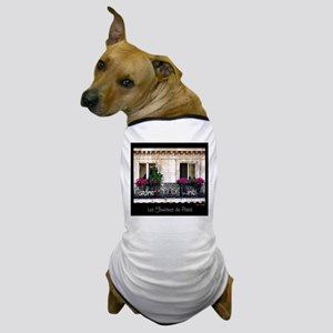 Parisian Window & Balcony Dog T-Shirt