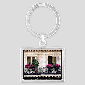 Parisian Window & Balcony Keychains