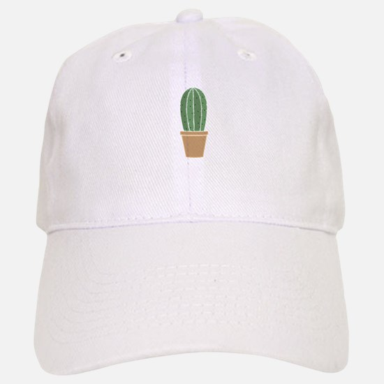 Potted Cactus Baseball Cap