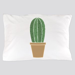 Potted Cactus Pillow Case