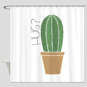 Hug? Shower Curtain