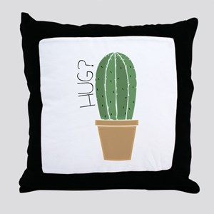 Hug? Throw Pillow