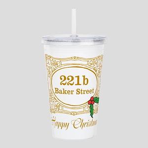 Baker Street Christmas Acrylic Double-wall Tumbler