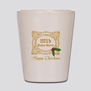 Baker Street Christmas Shot Glass
