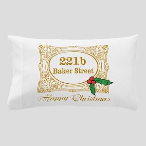 Baker Street Christmas Pillow Case