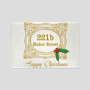 Baker Street Christmas Magnets