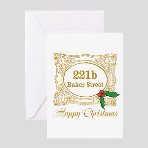 Baker Street Christmas Greeting Cards