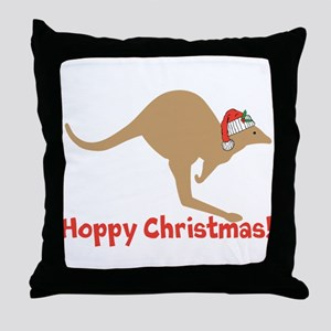 Aussie Christmas Throw Pillow