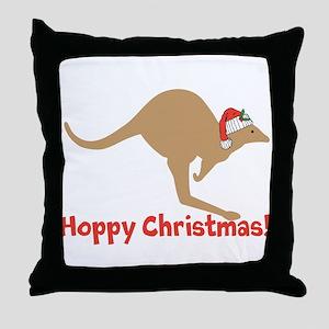 Aussie Christmas Throw Pillow