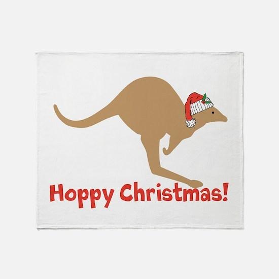 Aussie Christmas Throw Blanket