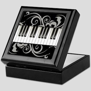 Piano Keyboard Keepsake Box