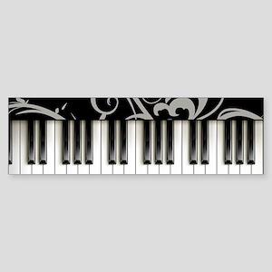 Piano Keyboard Sticker (Bumper)