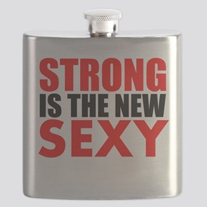STRONG IS THE NEW SEXY Flask