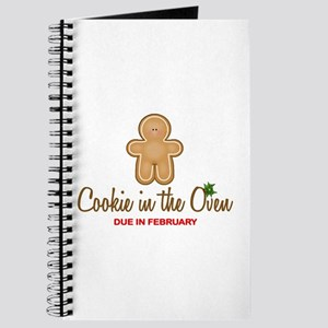 Cookie Due February Journal