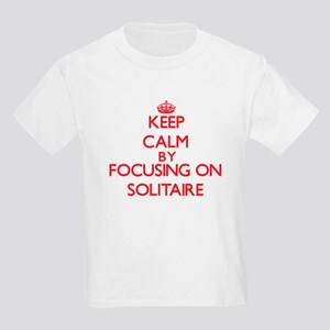 Keep Calm by focusing on Solitaire T-Shirt