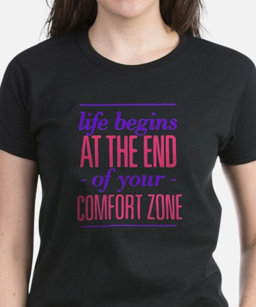 Life Begins - Pink/Purple T-Shirt