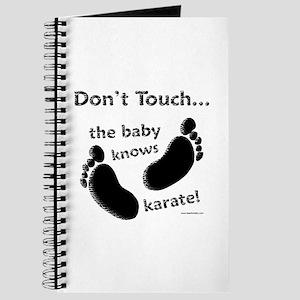 Karate Baby Black Journal