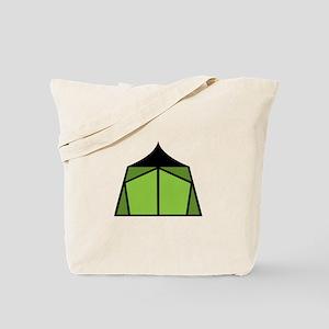 Camp Tent Tote Bag