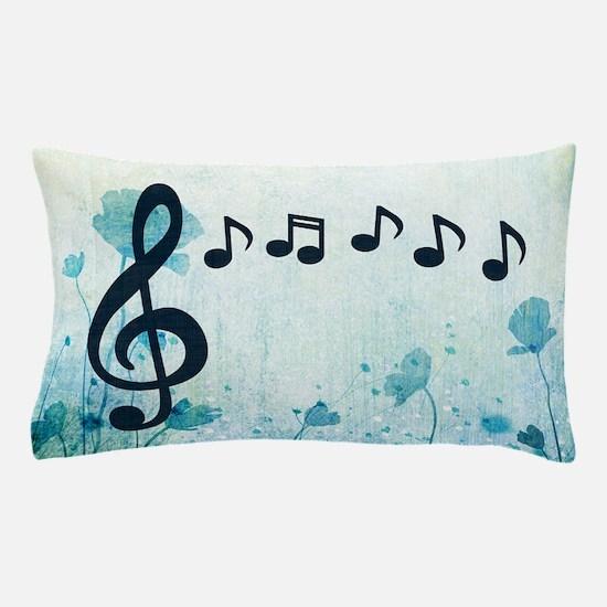 Musical Garden Pillow Case