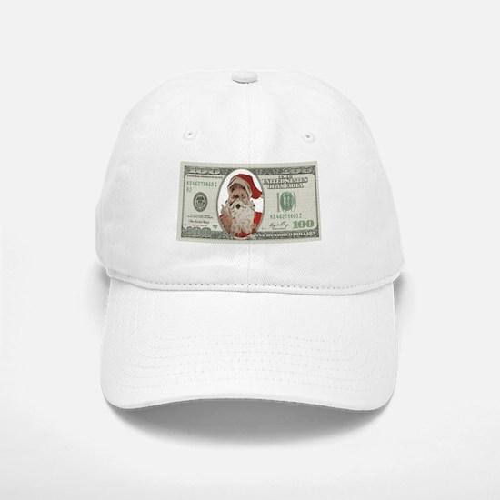 Santa 100 Dollars Baseball Baseball Baseball Cap