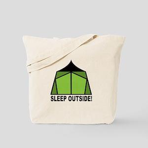 Sleep Outside Tote Bag