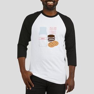 Milk and Cookies Baseball Jersey