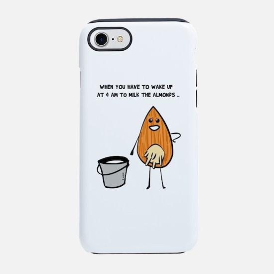 Vegan Milk iPhone 7 Tough Case