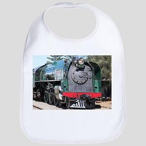 Steam train locomotive, Goolwa, South Australi Bib
