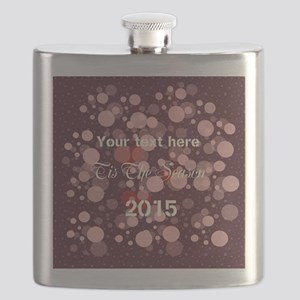 Giving Thanks Cranberry Flask