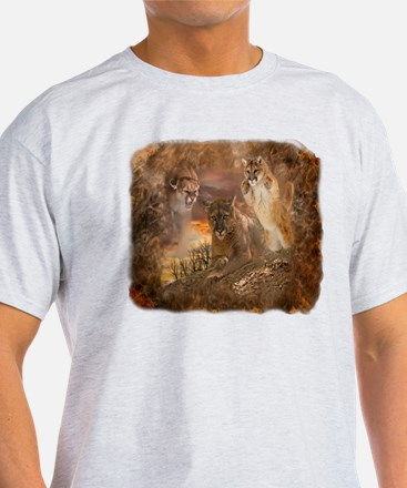 Mountain Lion Collage T-Shirt