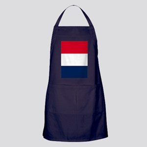 French Flag Apron (dark)