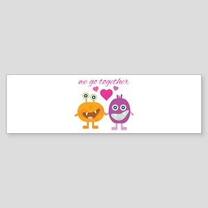 Go Together Bumper Sticker