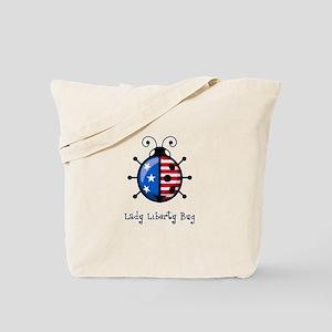 USA Ladybug Tote Bag