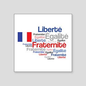 French Liberty Bastille Day Sticker