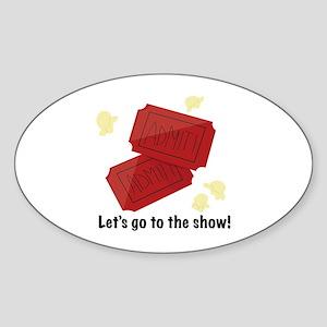 Go To Show Sticker