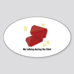 No Talking Sticker