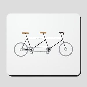 Tandem Bike Mousepad