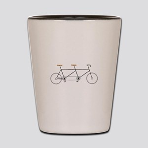 Tandem Bike Shot Glass
