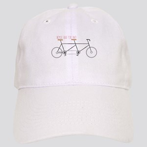 Bicycle for Two Baseball Cap